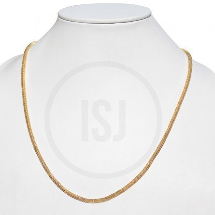 Handmade Mens Gold Plated Chain