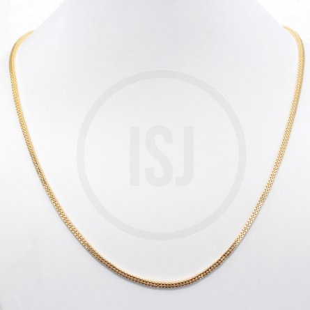 Sleek Handmade  Gold Plated Men's Chain