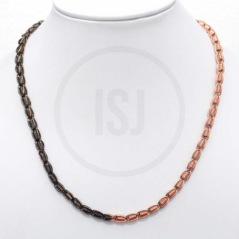 Designer Dual Plating Chain For Men