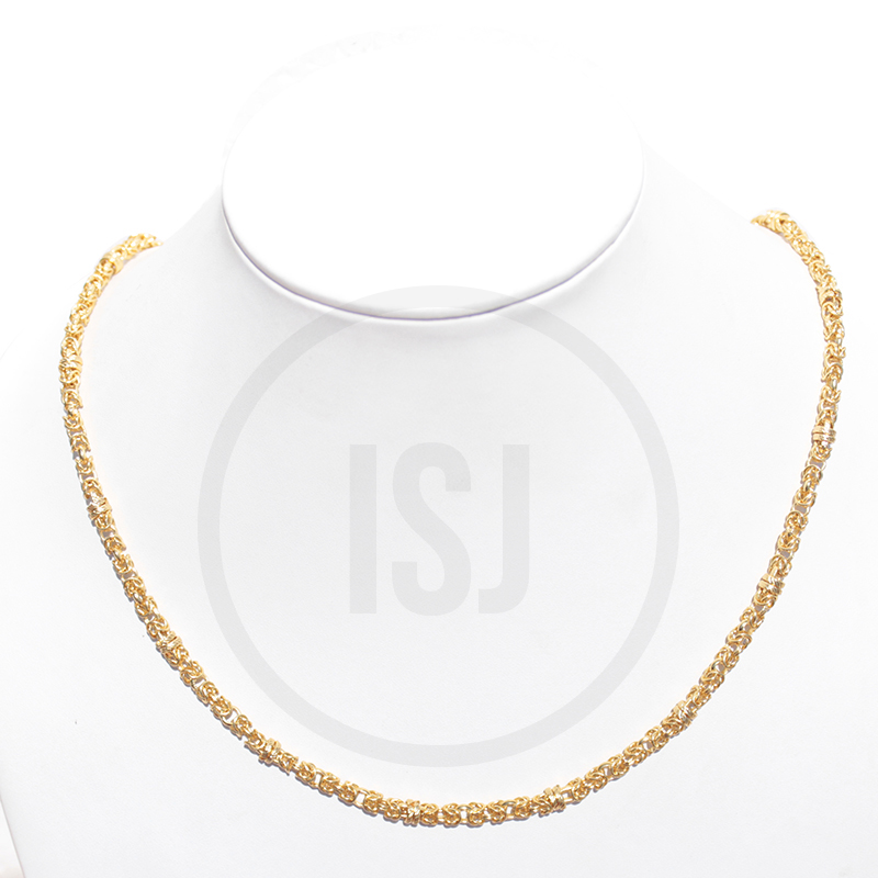 Designer Gold Plated Link Women's Chain