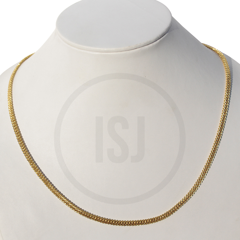Sleek Chain With Gold Plating For Women