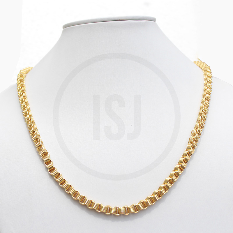 Handmade Gold Plated Chains For Men