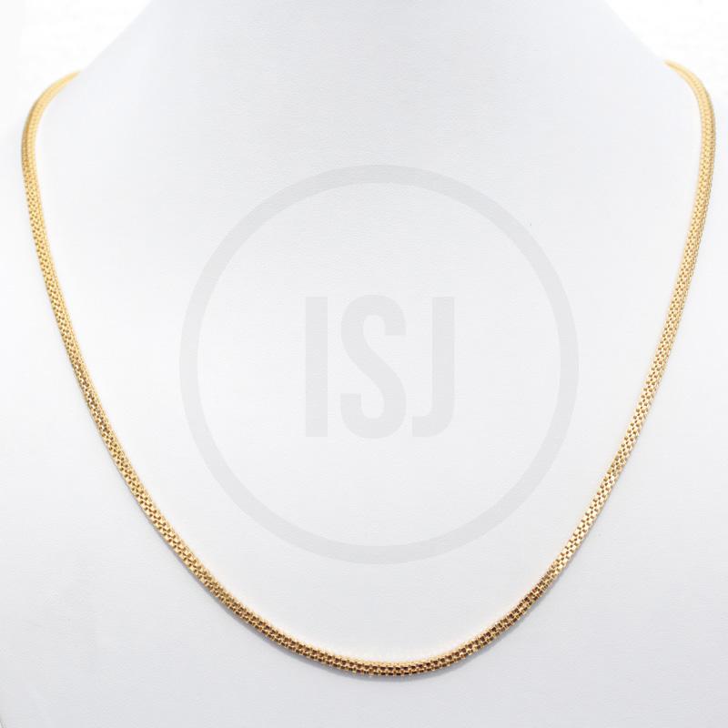 Sleek Handmade  Gold Plated Men's Chain