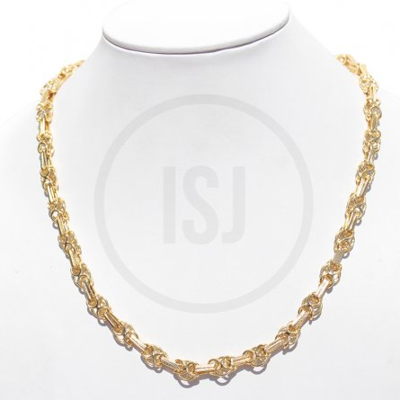 Stupendous Men's Yellow Gold Plated Link Chain