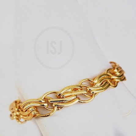 Gold Plated Classy Bracelet  For Men