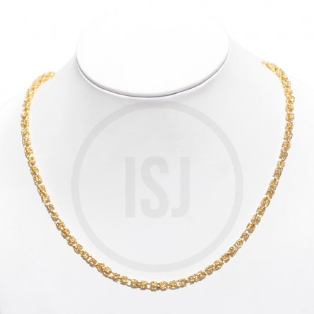 Stylish Gold Plated Link Men's Chain