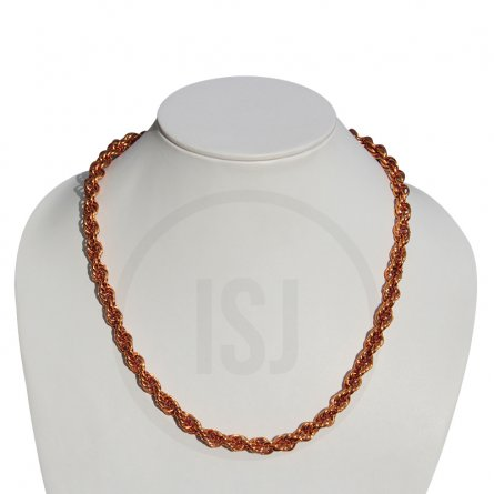 Men's Rope Chain With Copper Plating