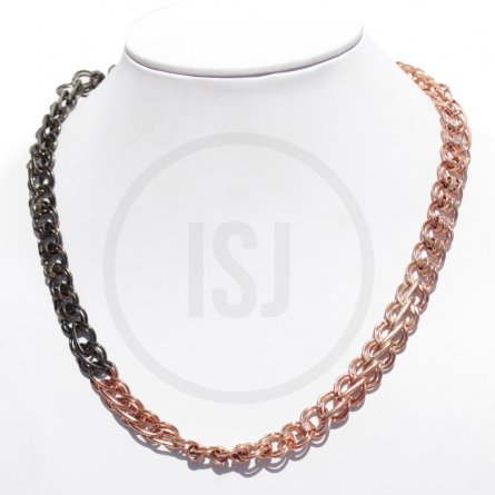 Dual Plated Statement Link Men's Chain