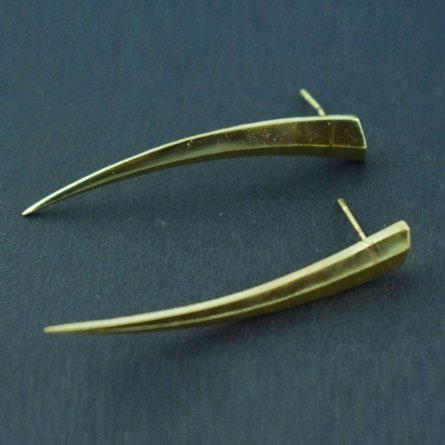 New Fashion Sword Look Long Sword Earrings Art Jewelry Free Shipping