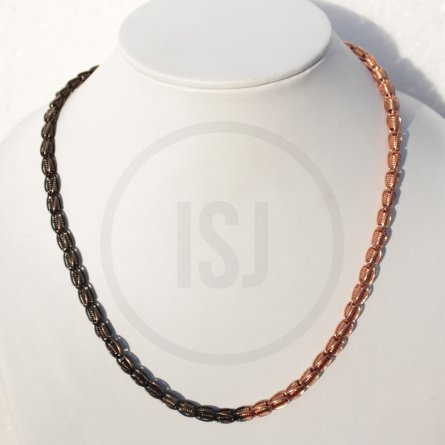Fashionable Dual Plating Chain For Men