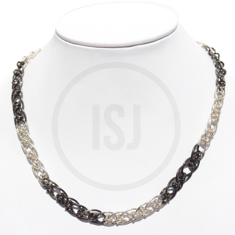 Stylish Dual Plating Chain For Men