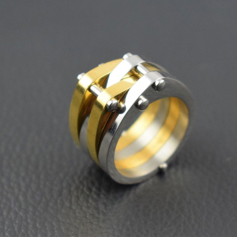 TOP QUALITY NEW STAINLESS STEEL RING BAND TITANIUM SILVER MEN RING JEWELRY