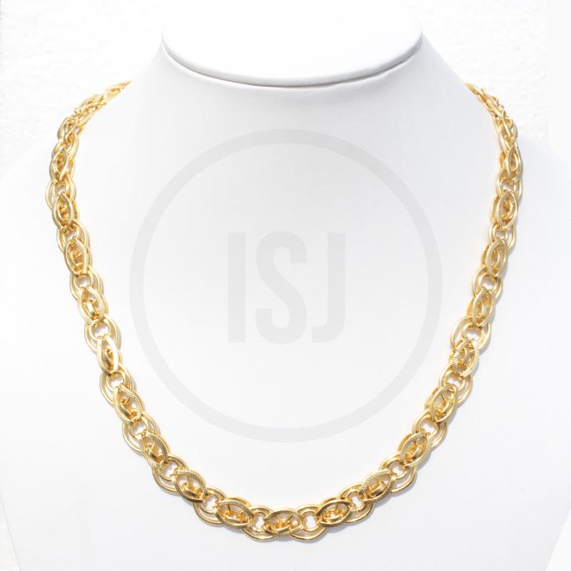 Shiny Handmade Men's Chain in Link Design