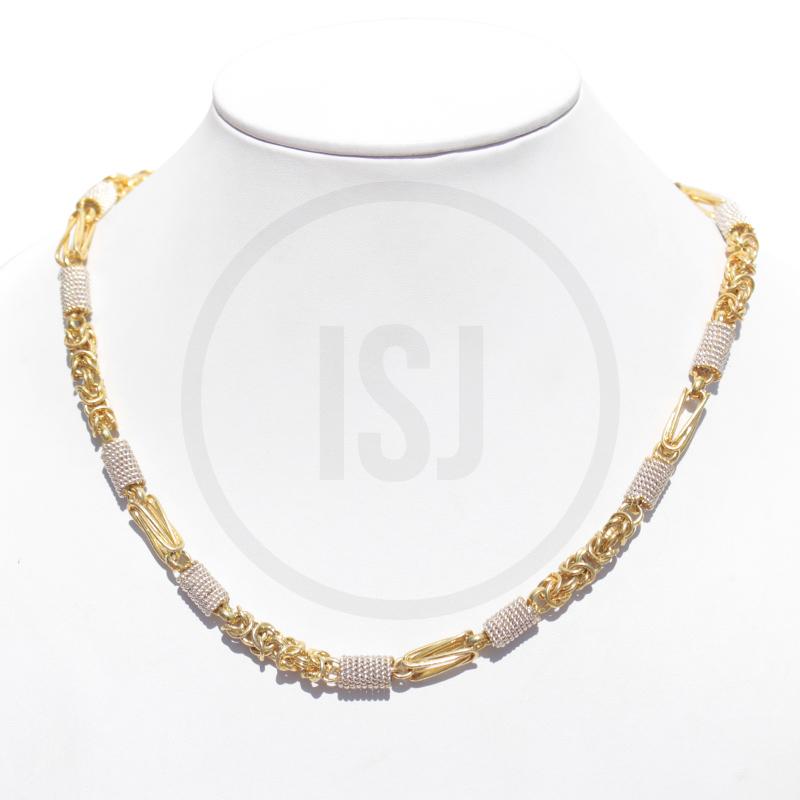 Designer Brass Link Men's Chain