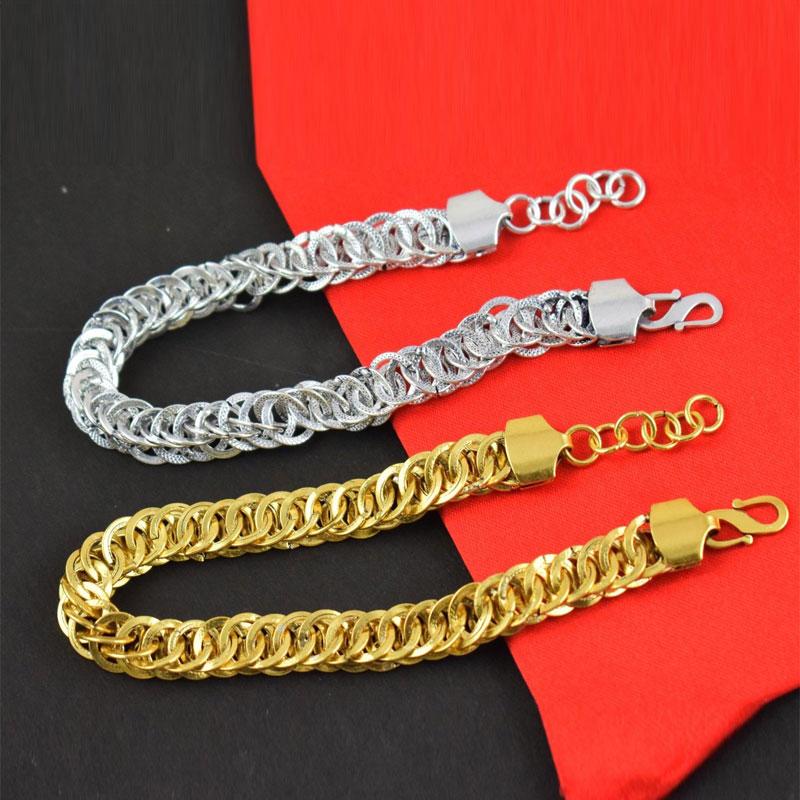 Men Women Bracelet Brass Gold Plated Boho Bracelet Free Shipping
