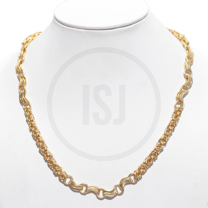Elegant Gold Plating Link Chain for Men