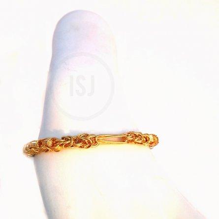 Multi Layer Gold Plated Bracelet For Men